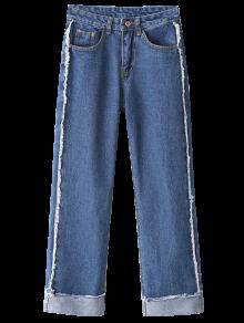 Cutoffs Cuffed Jeans