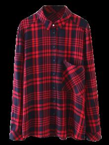 Pocket Checked Shirt