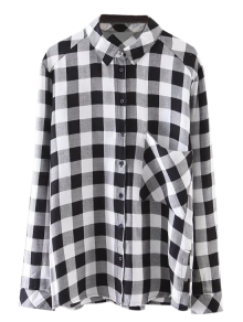 Pocket Checked Shirt