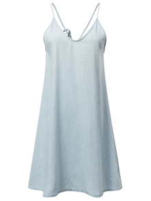 Slip Denim Dress
