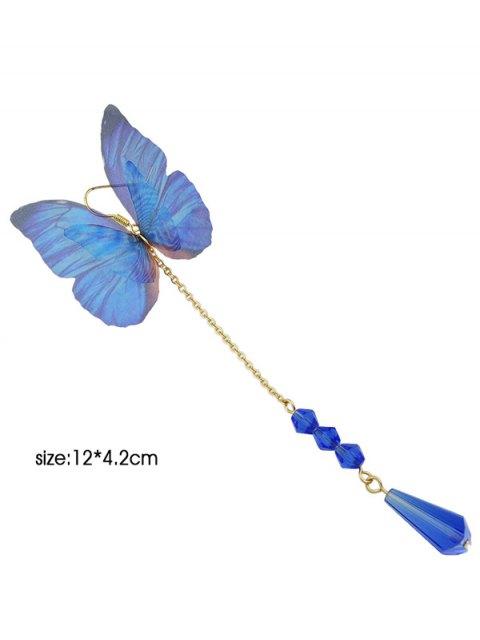 new Teardrop Butterfly Earring - BLUE  Mobile