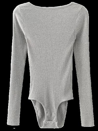 Low Back Ribbed Bodysuit