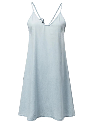 Cami Casual Mini Dress - Light Blue