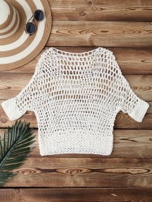 Hollow Out Crochet Cover Up