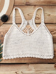 Knitting Crochet Bikini Top