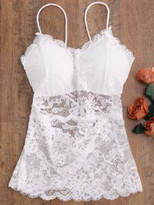 See Thru Lace Camisole Top