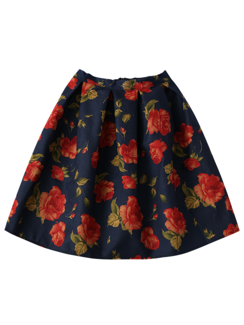 buy Floral Flippy Ball Gown Skirt - COLORMIX ONE SIZE Mobile