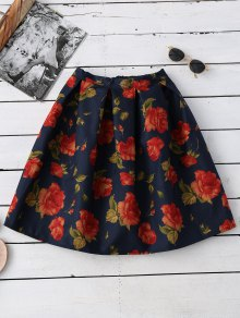 Floral Flippy Ball Gown Skirt