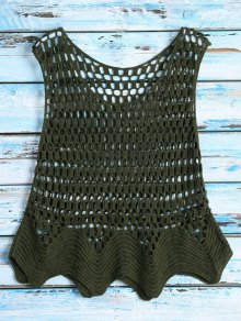 Crochet See Thru Tank Top