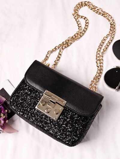 Sequins Panel Mini Cross Body Bag от Zaful.com INT