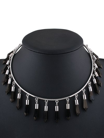 Alloy Fringed Cuff Necklace от Zaful.com INT