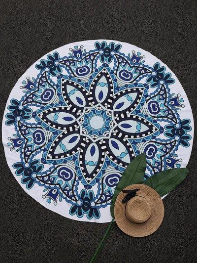 Ronda Madala Paisley Beach Throw - Azul