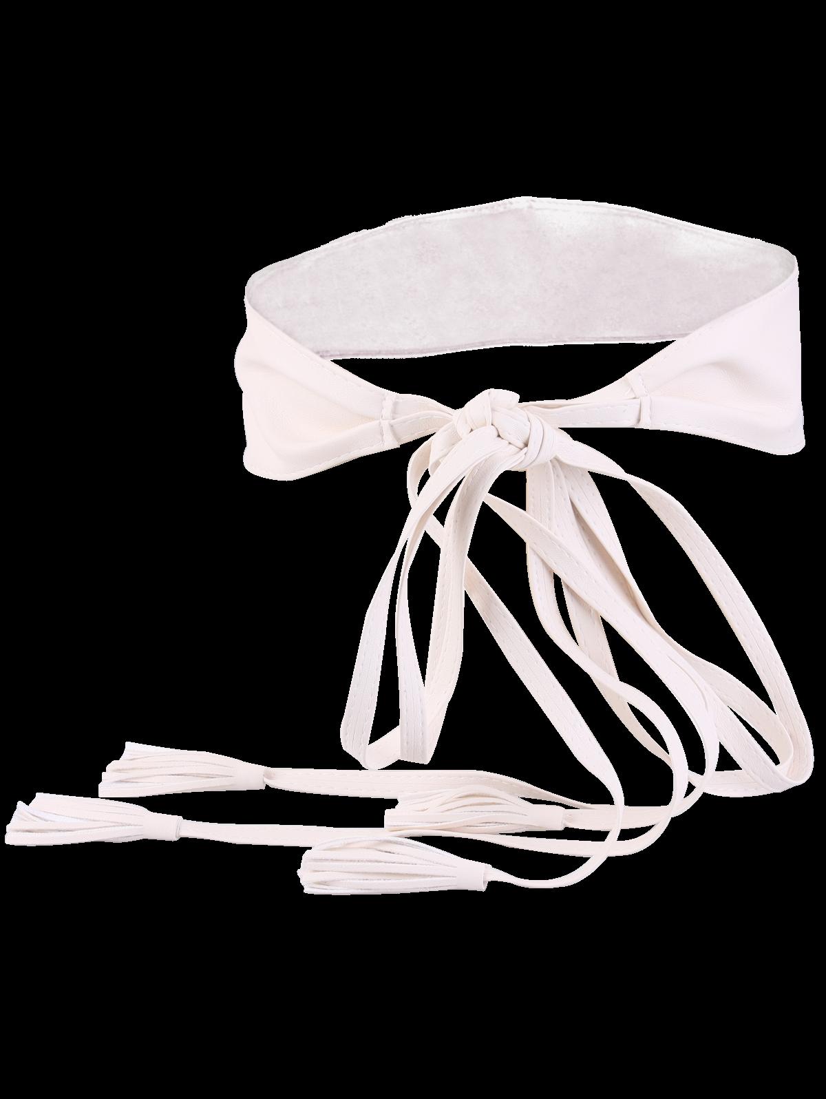 Tassel Long Tail Lace Up Wide Belt от Zaful.com INT