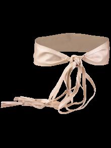 Tassel Long Tail Lace Up Wide Belt