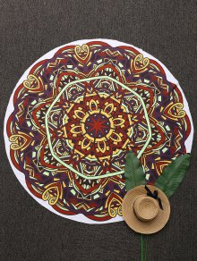 3D Abstract Print Mandala Beach Blanket