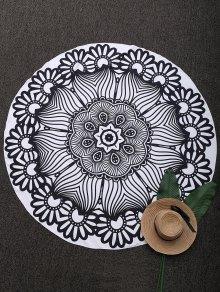 Mandala 3D Printed Beach Throw