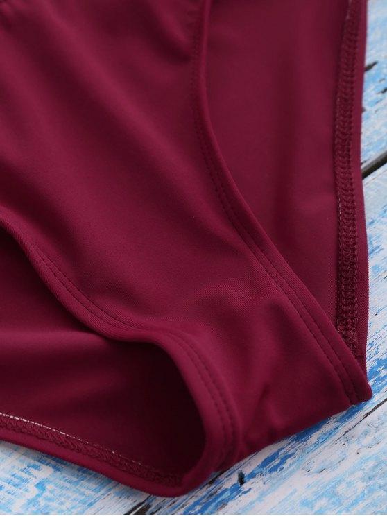 Strappy Bikini Set - RED M Mobile