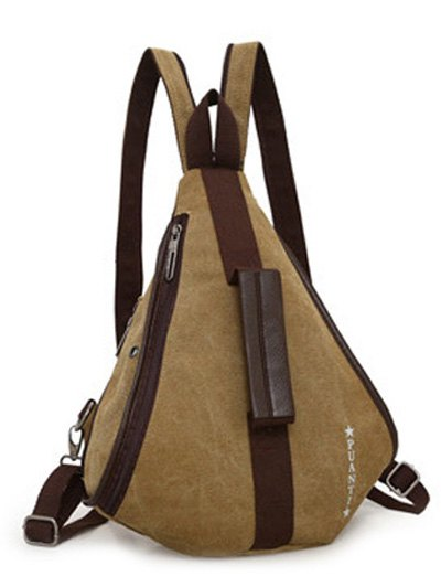 Casual Multifunction Canvas Backpack от Zaful.com INT