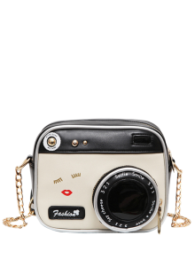 Novelty Camera Shaped Cross Body Bag