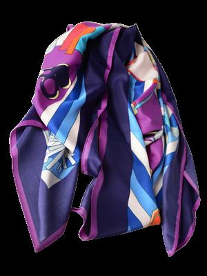 Handbags Shawl Scarf - Purple