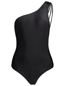 One Shoulder Multiple-Rope Swimwear