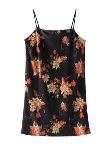 Floral Velvet Cami Dress