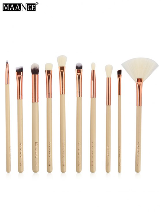 MAANGE 10 Pcs Eye Makeup Brushes Set - COMPLEXION  Mobile