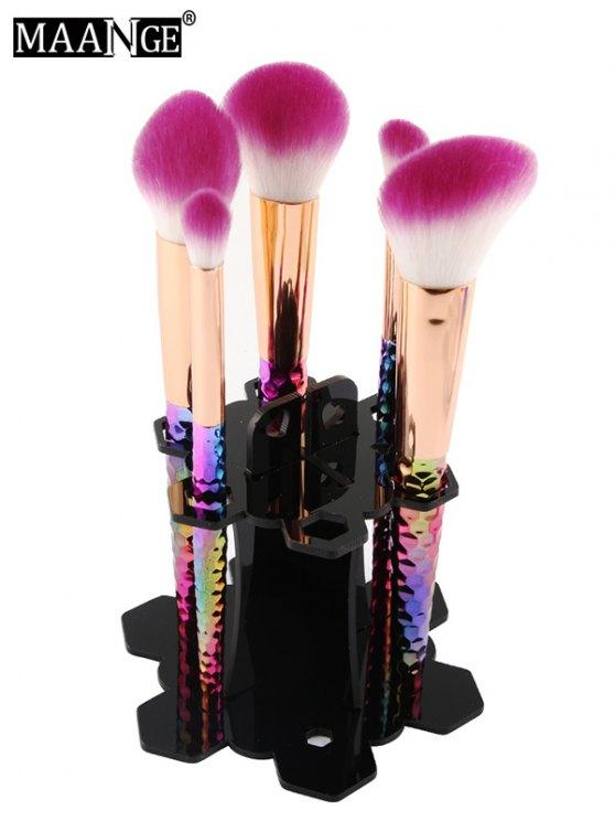 MAANGE Beauty Brush Stand Brush Holder - BLACK  Mobile