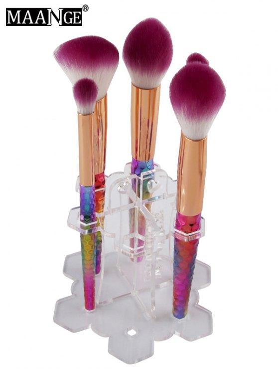 MAANGE Beauty Brush Stand Brush Holder - TRANSPARENT  Mobile