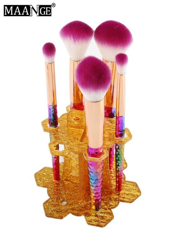 MAANGE Beauty Brush Stand Brush Holder - GOLDEN  Mobile