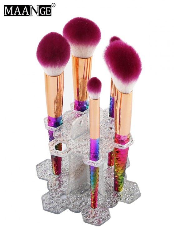 MAANGE Beauty Brush Stand Brush Holder - SILVER  Mobile