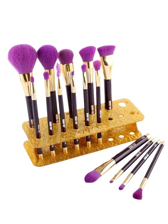 outfits MAANGE Makeup Brush Holder Brush Stand - GOLDEN