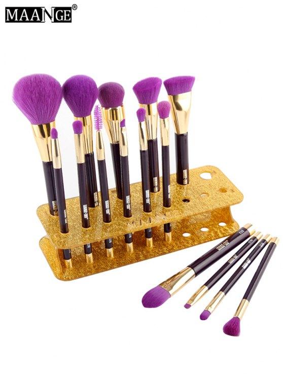 MAANGE Makeup Brush Holder Brush Stand - GOLDEN  Mobile