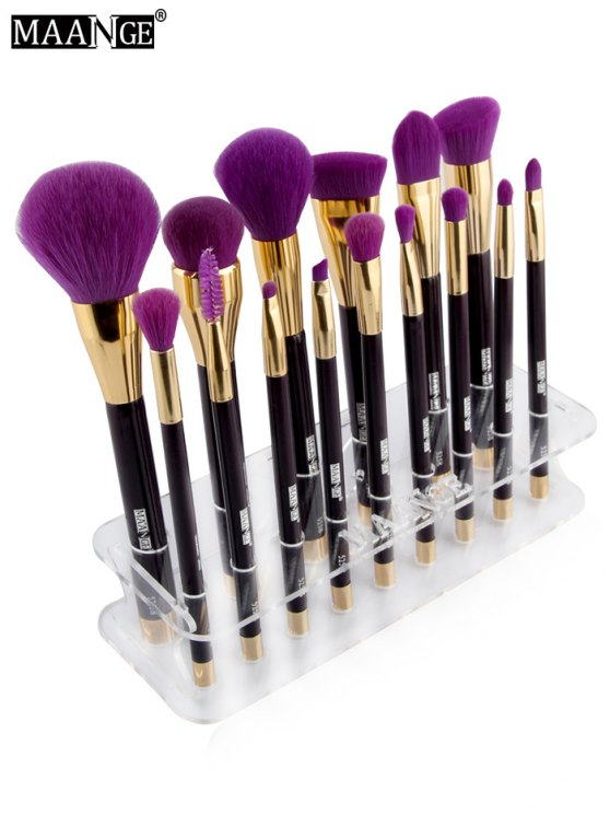MAANGE Makeup Brush Holder Brush Stand - TRANSPARENT  Mobile