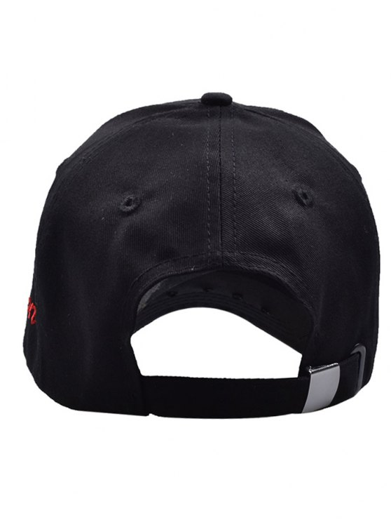 Traverse Star Rivet Letters Baseball Cap - BLACK  Mobile