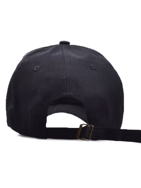 Dragon Head Door Knocker Baseball Hat - BLACK  Mobile