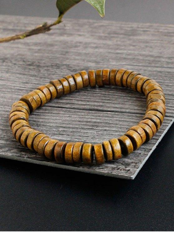 Faux Leather Woven Friendship Bracelets - BROWN  Mobile