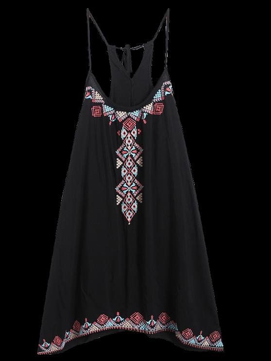Vestido de Tirantes Finos - Negro Única Talla