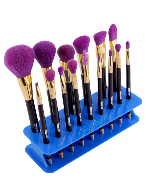 outfit MAANGE Makeup Brush Holder Brush Stand - BLUE  Mobile