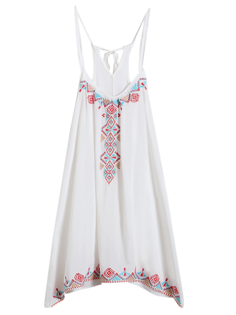 outfit Spaghetti Strap Dress - WHITE ONE SIZE Mobile