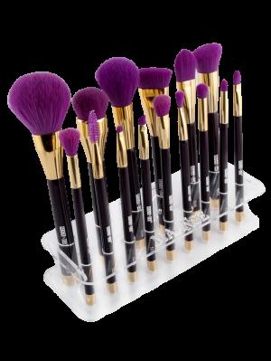MAANGE Makeup Brush Holder Brush Stand - Transparent