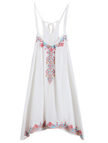 Spaghetti Strap Dress - White
