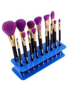 MAANGE Makeup Brush Holder Brush Stand - Blue