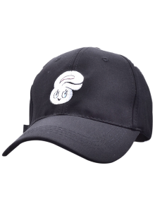 Casquette de Baseball brodée de tête de lapin en cartoon