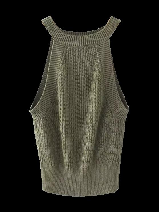 Sudadera con cremallera - Verde del ejército S