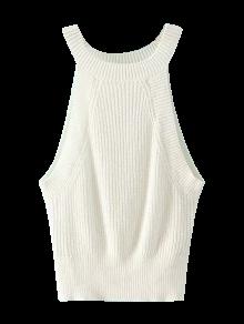 Haut en tricot en armure
