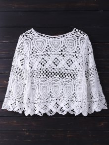 Crochet Laser Cut Top