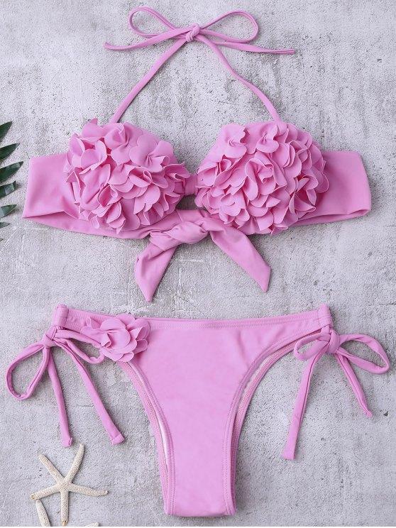 Bikini rosa cadena g