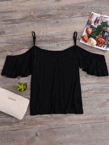 Camisole épaule Froide T - Noir S