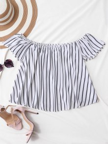 Flutter Off The Shoulder Top